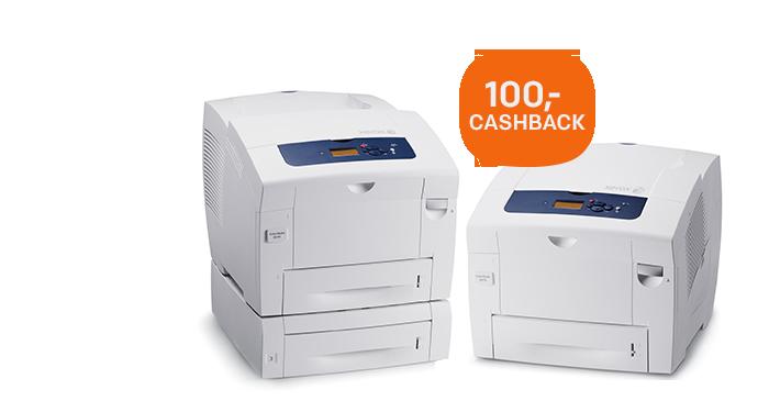 100,- cashback op de Xerox ColorQube 8570