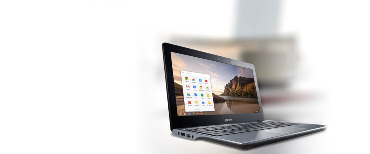 Werk in de cloud met een Acer Chromebook