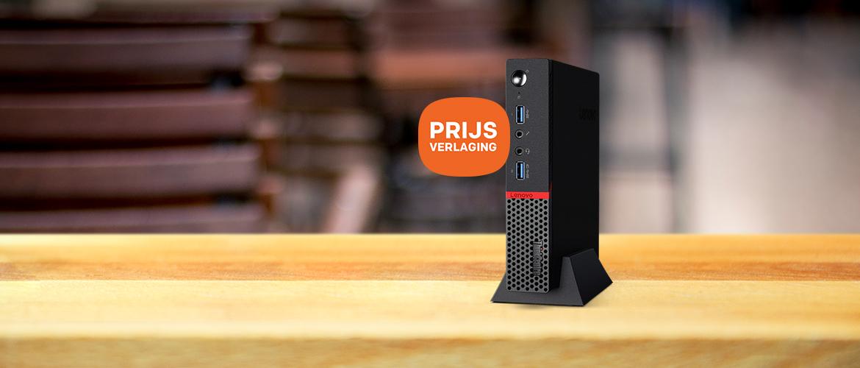 Lenovo desktop pc's prijsverlaging
