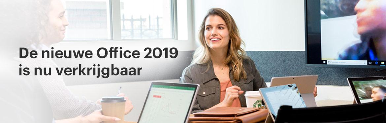 De nieuwe Office 2019 pakketten voor student, business en