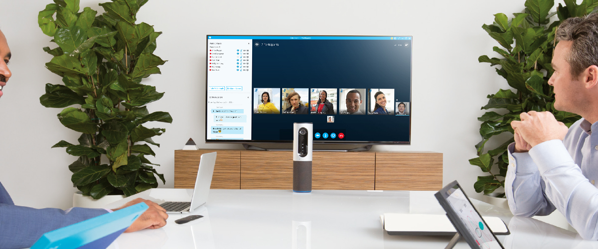 Videovergaderen met Logitech
