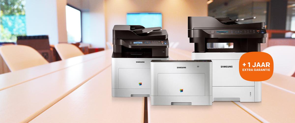 GRATIS 1 jaar extra garantie bij Smart ProXpress printers