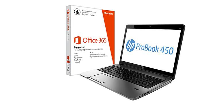 HP PC of notebook met GRATIS Office 365 Personal