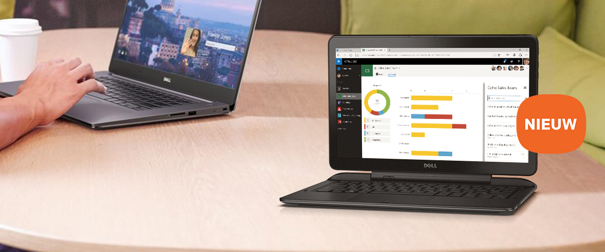 De nieuwe Dell 13 7000 2-in-1 laptop serie