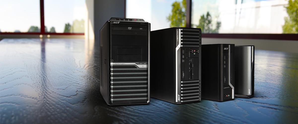50,- cashback op Acer Veriton PC's