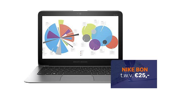 Gratis Nike cadeaubon bij HP notebooks