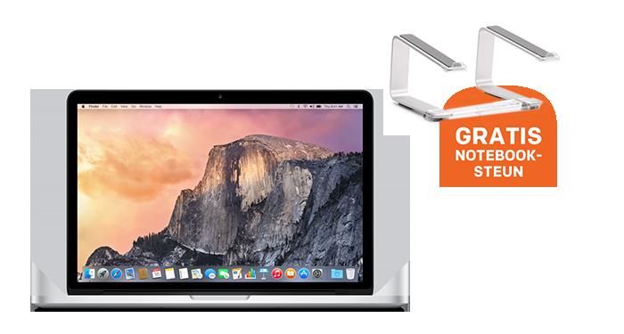 Apple MacBook Pro met GRATIS notebooksteun