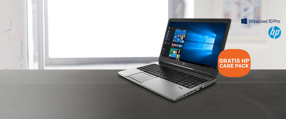 HP ProBook 650 + GRATIS Care Pack t.w.v. 180,-