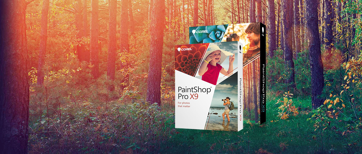 Corel PaintShop Pro X9 grafische software
