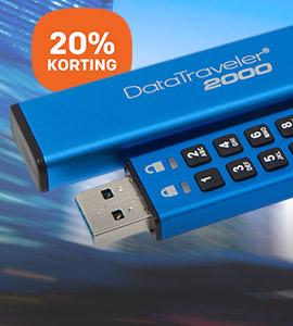 Kingston beveiligde USB-sticks: