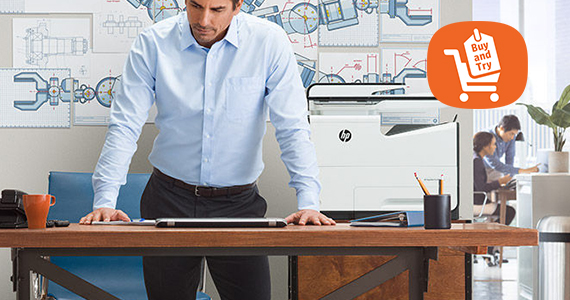 Buy and Try HP PageWide printers