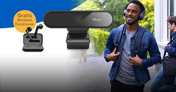 Gratis Trust True Wireless Earphones bij 50,- aan Trust producten