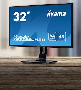 "Iiyama ProLite 32"" 4K monitor"