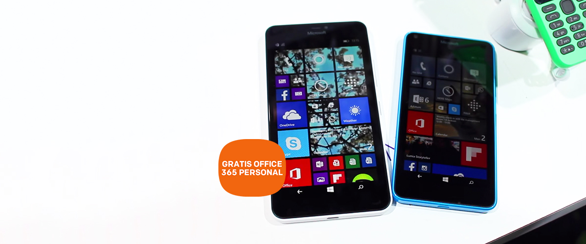 GRATIS Office 365 Personal bij Lumia 640 en 640 XL