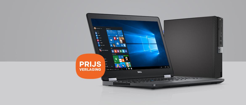 Veel korting op Dell Latitude E5570 & Optiplex 3040