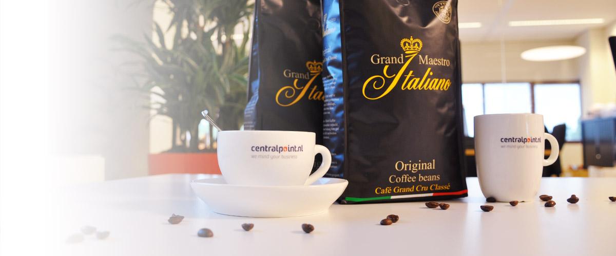 Kwaliteitskoffie voor op kantoor