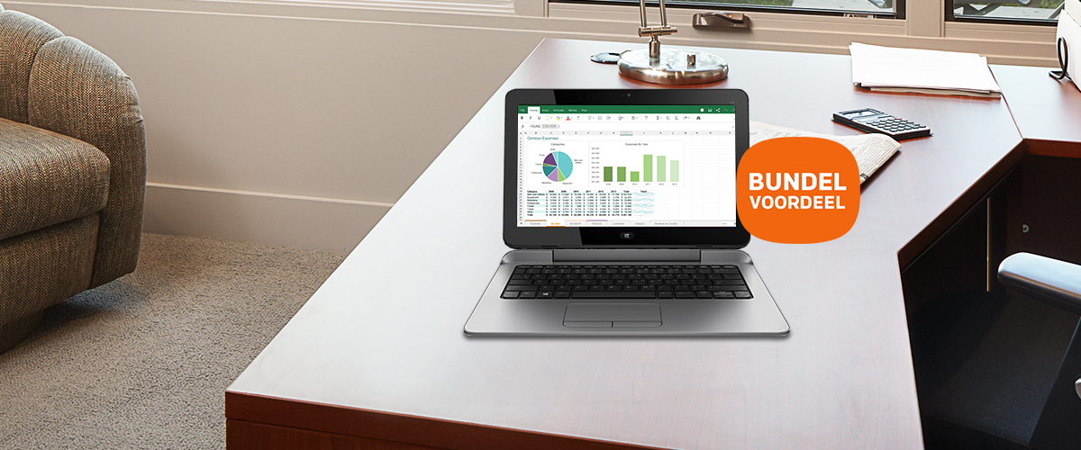 Ontvang Office 365 bij een HP voordeelbundel