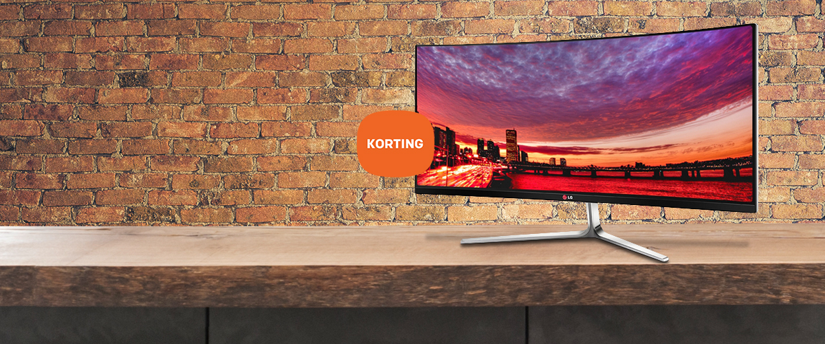 LG monitoren voor schitterende prijzen
