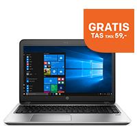 Notebook + GRATIS tas & speaker