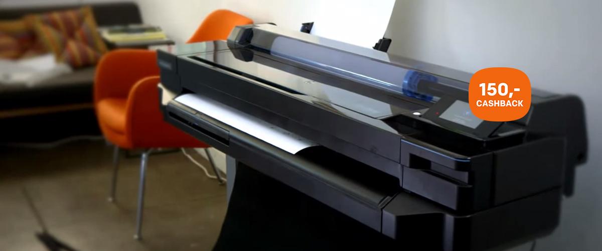 HP DesignJet T520 cashback