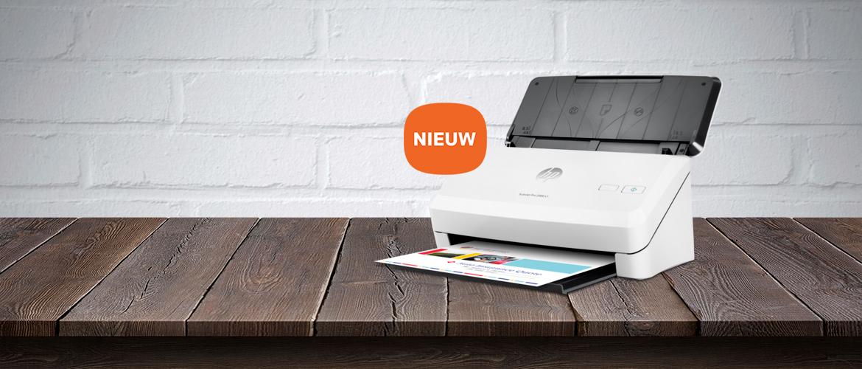 HP ScanJet Pro & Enterprise Flow scanners verhogen uw productiviteit op het kantoor