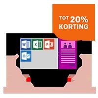 Tot 20% korting op Microsoft Office 365 Open License