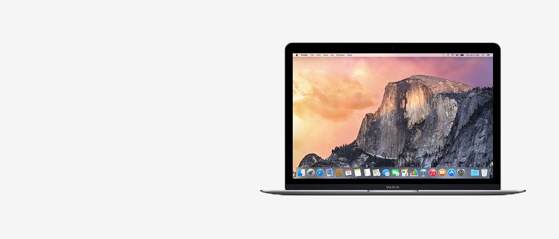 """Refurbished Apple MacBook 12"""" nu extra scherp geprijsd"""