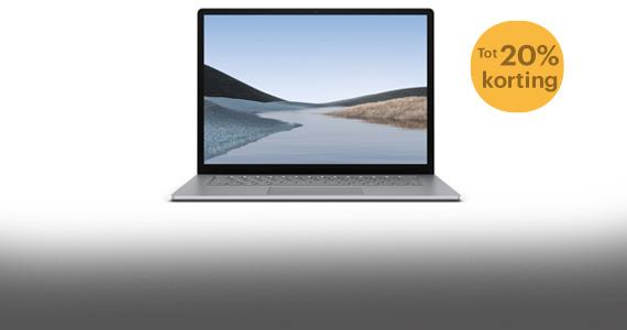 Nu tot 742,- korting op de Microsoft Surface Laptop 3