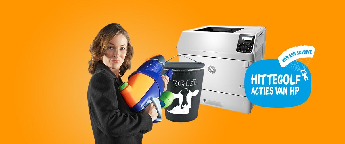 GRATIS koeltas bij een HP printer