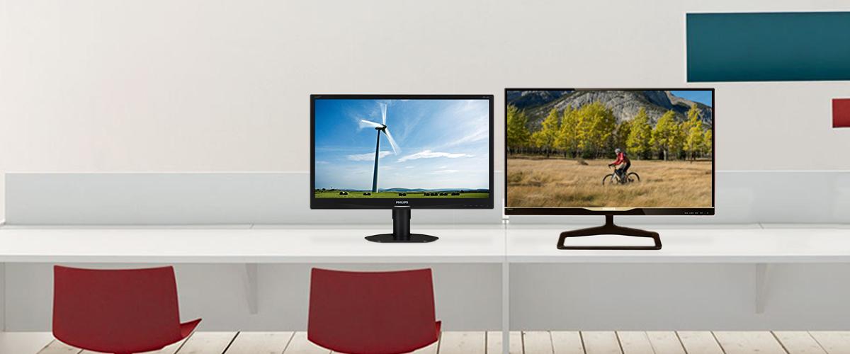 Philips monitoren van 22'' tot 28''