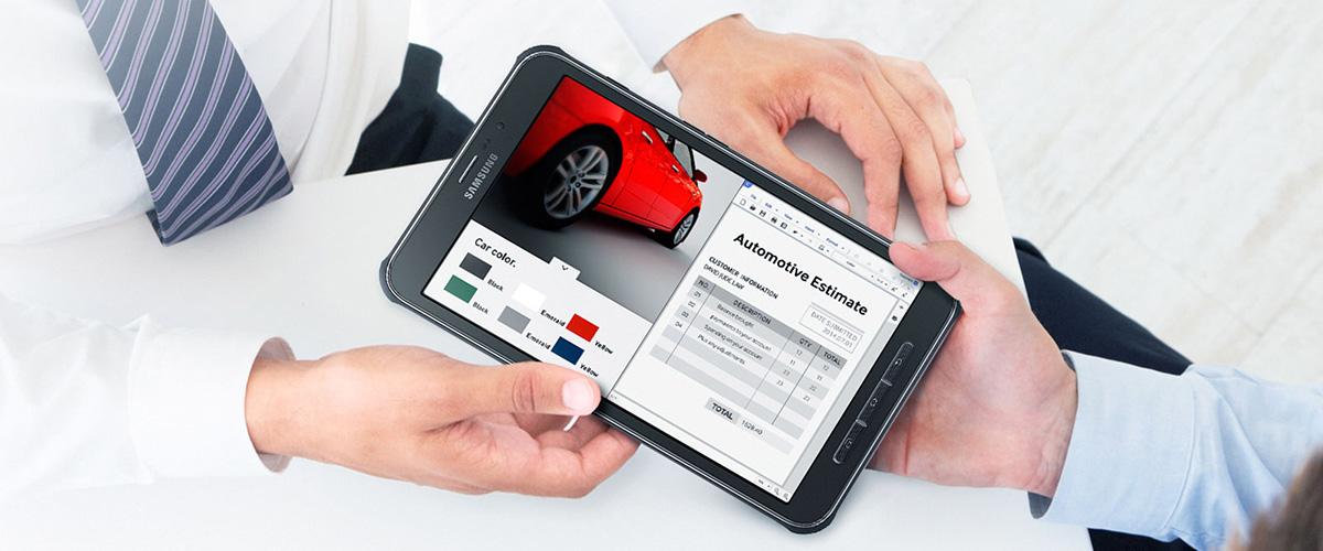 Nieuw! Samsung Galaxy Tab Active