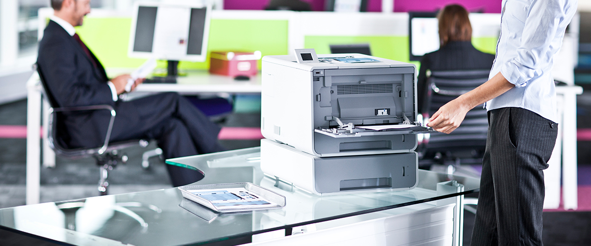 Brother papieroplossingen en kleuren laserprinter