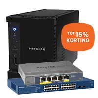 Profiteer tot 15% korting op NETGEAR producten: