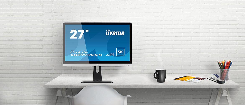 Nieuwe iiyama 5K-monitor