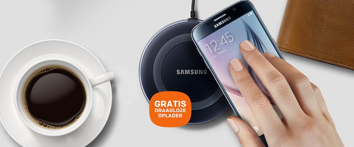 Samsung Galaxy S6 en S6 Edge met GRATIS draadloze oplader