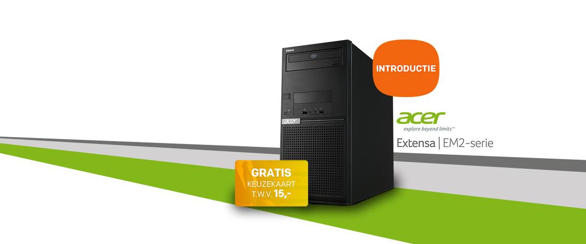 Nu verkrijgbaar: Acer Extensa desktop pc's