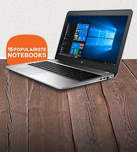 Bekijk de Top-15 best verkochte HP notebooks