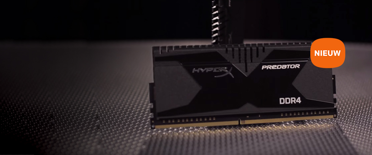 Kingston HyperX DDR4 Geheugen