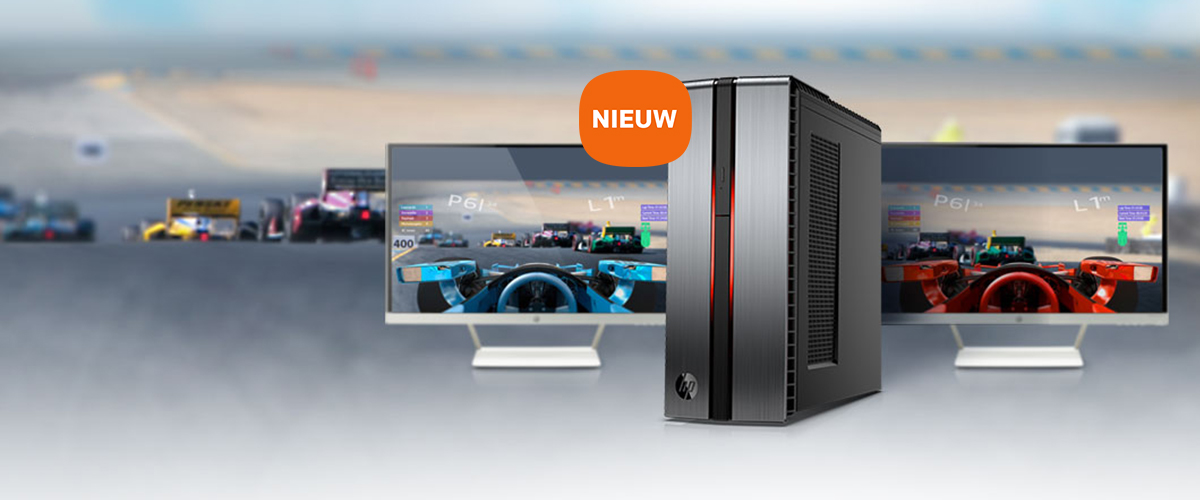 Game on met de HP gaming pc
