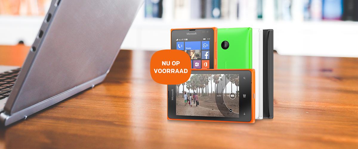 De Microsoft Lumia 532 is nu op voorraad