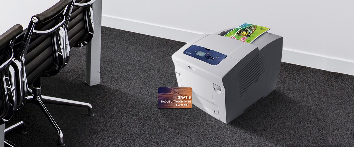 GRATIS dagje uit bij aankoop van Xerox printers