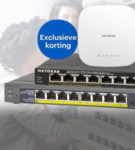 Centralpoint exclusieve korting op NETGEAR producten