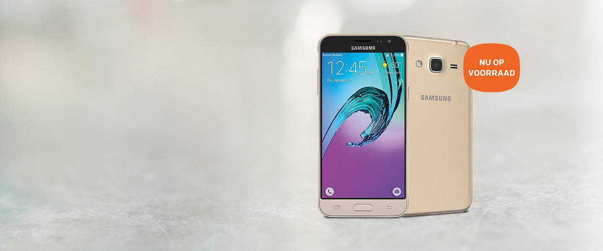 Bestel nu: Samsung Galaxy J3
