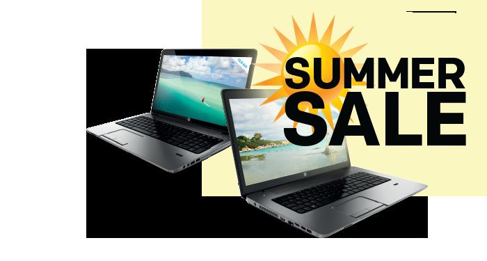 Tot 100,- zomerkorting op HP producten