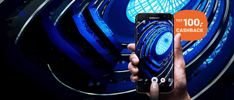 Ontvang hoge cashback op de Samsung Galaxy S7 en S7 edge