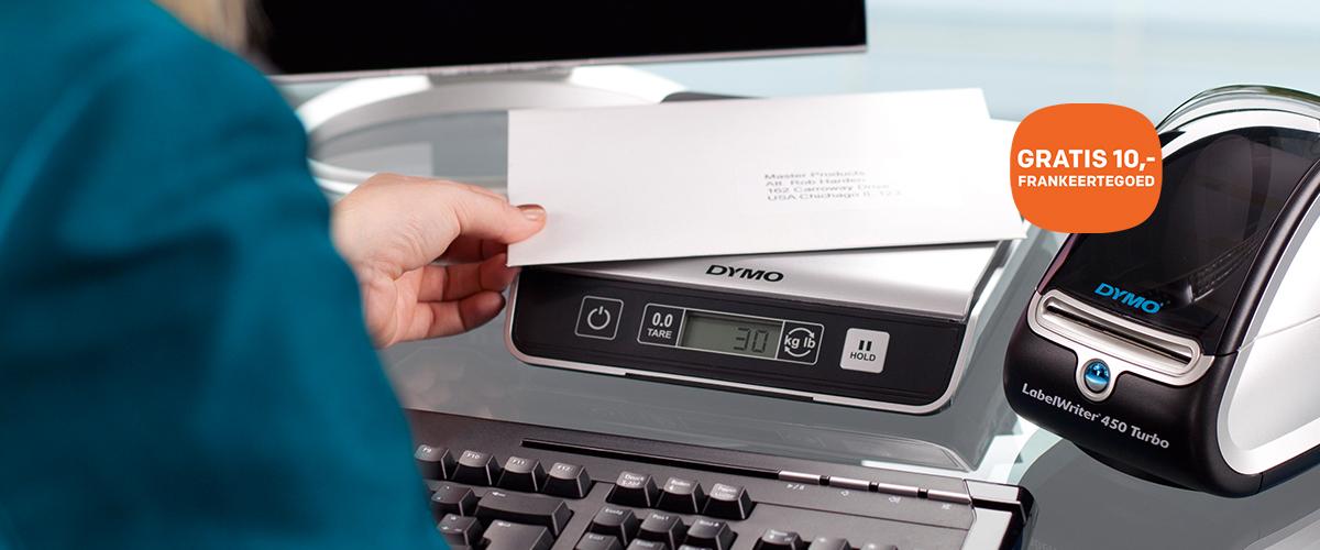 DYMO LabelWriter 450 + GRATIS frankeertegoed