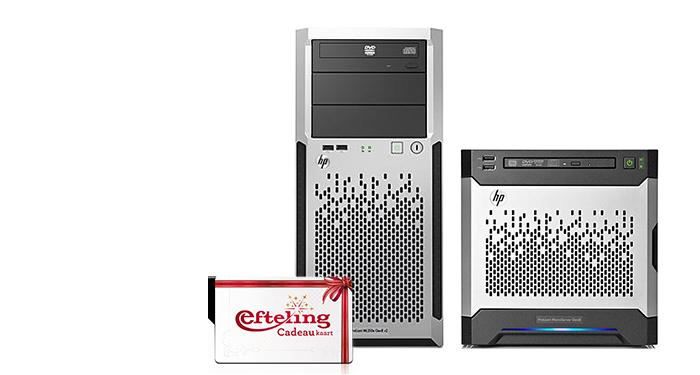 GRATIS 100,- Efteling cadeaukaart bij HP server bundels