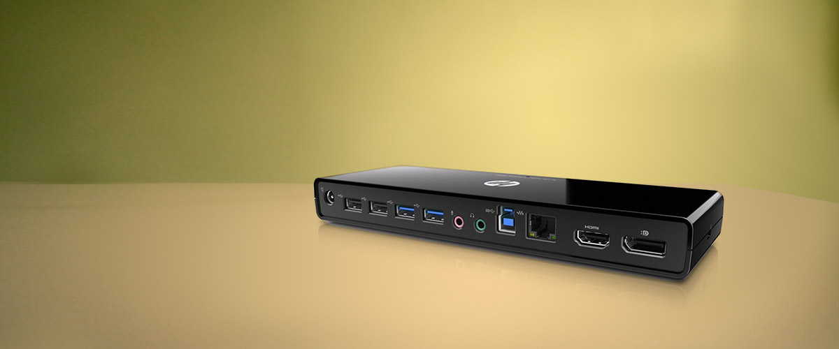 HP notebook docking stations