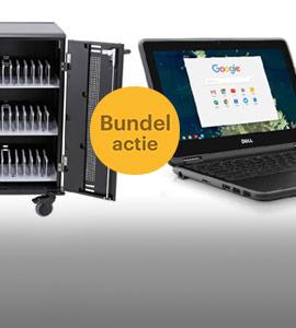 Dell educatie Chromebook actie