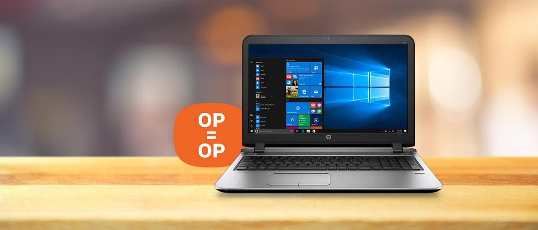 Laatste kans op laptops uit de HP ProBook G3 400 serie